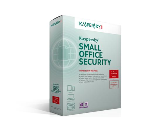 Kaspersky(企業版)- Kaspersky Small Office Security 4